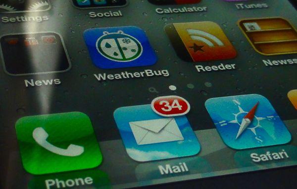 ڕشکردنهوهی پهیامەکانی Mail که پێشتر ناردومانه لە ئایفۆن