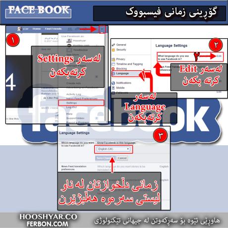 FaceBook-Language-KURDI