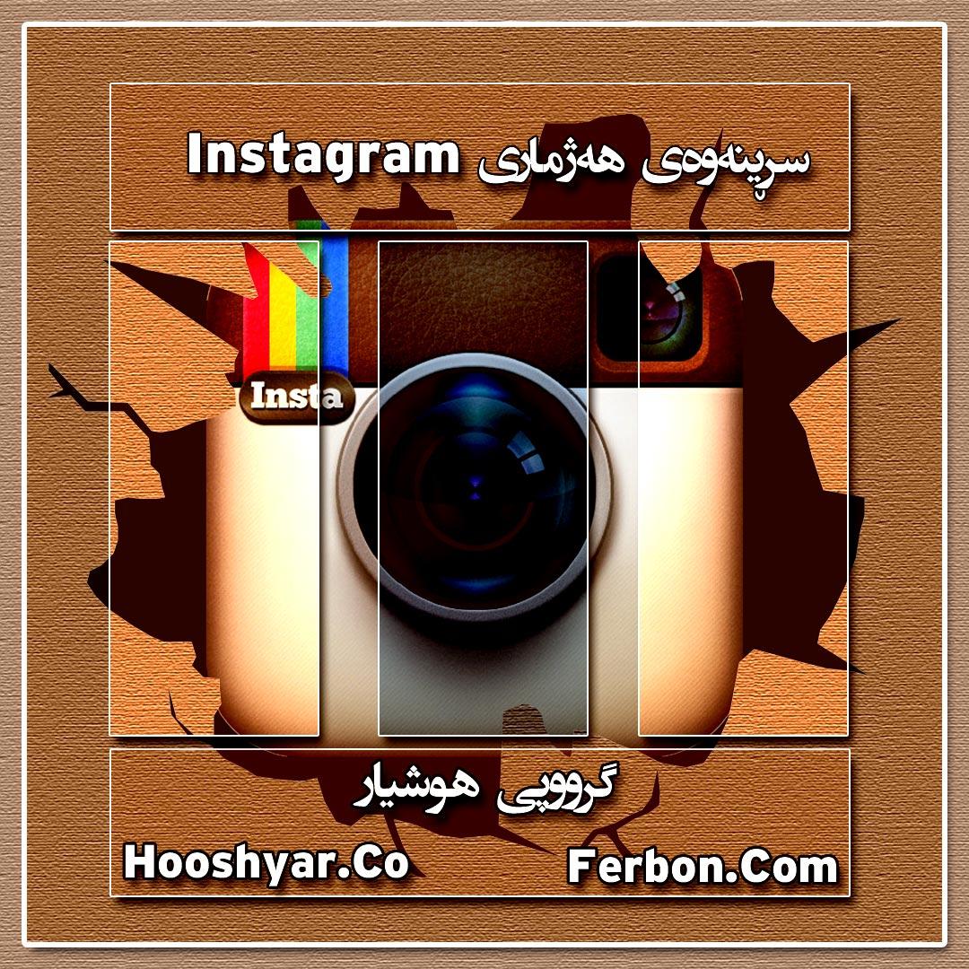 سڕینەوەی هەژماری Instagram