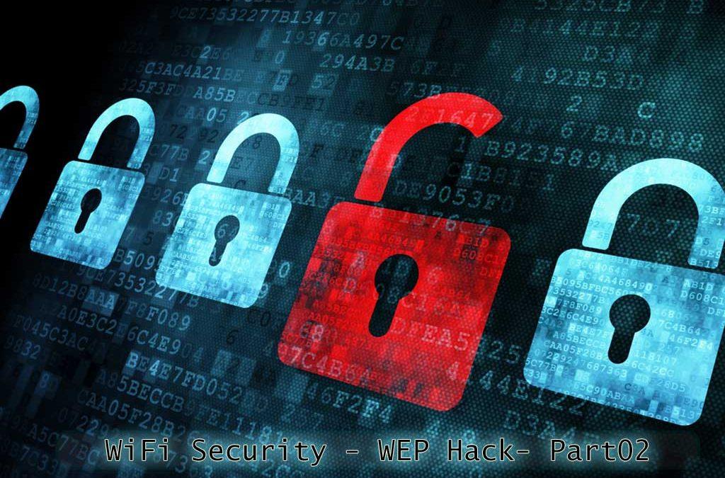 بەشی دووهەم لە زنجیرە فێرکارێكانی ئەولەهی – بەشی پاراستنی وای فای – WiFi-Security-WEP-Part02